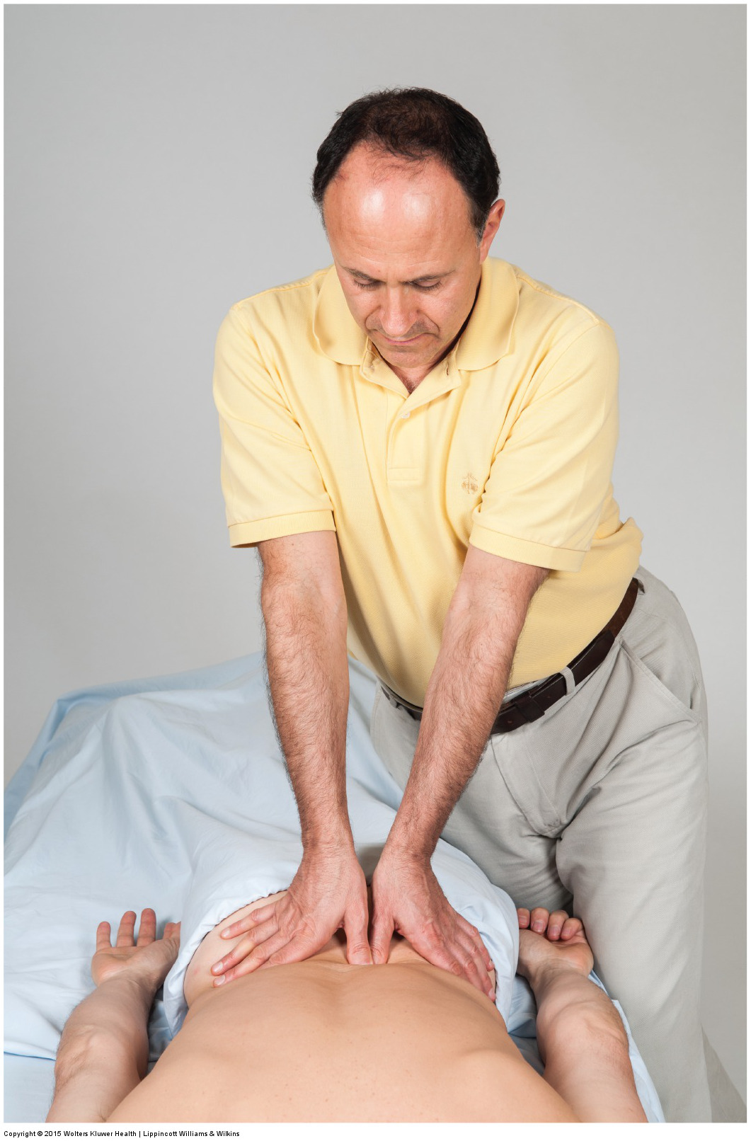 manual therapy soft tissue manipulation (massage) for low back muscle tightness