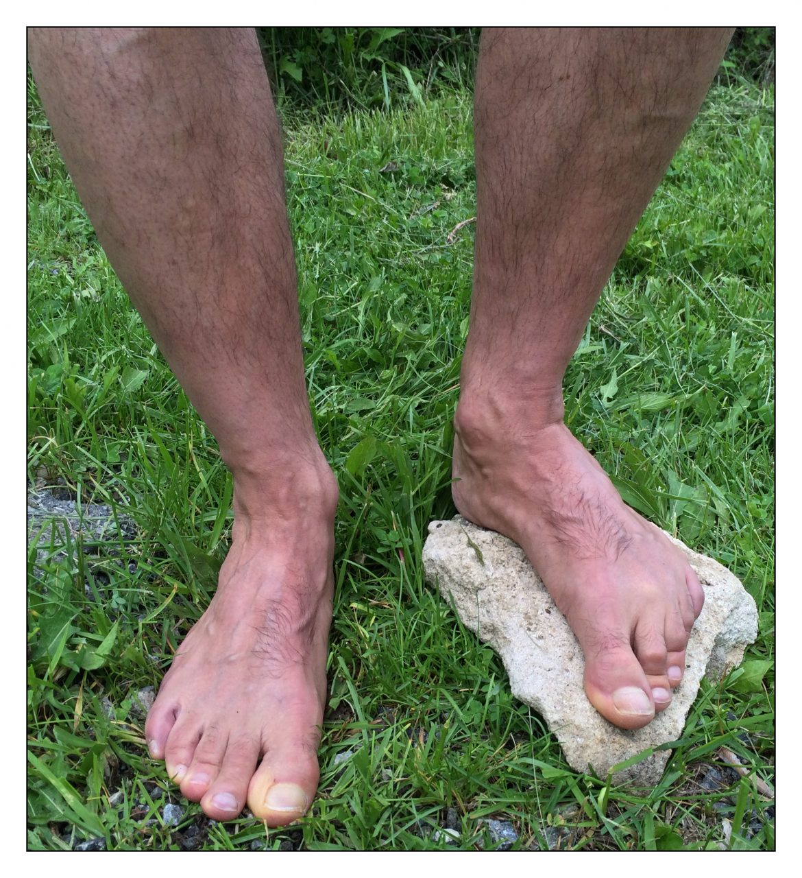 barefoot adaptation to the ground
