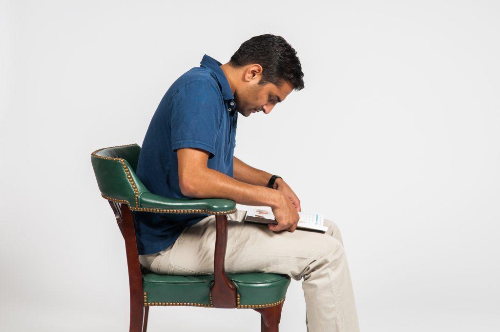 Bad posture - Reading