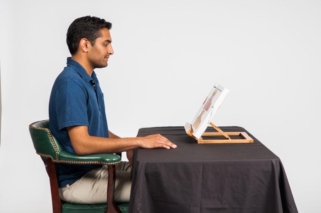 Good posture - Reading