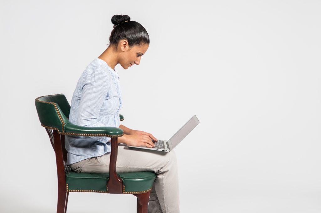 Bad posture - Laptop