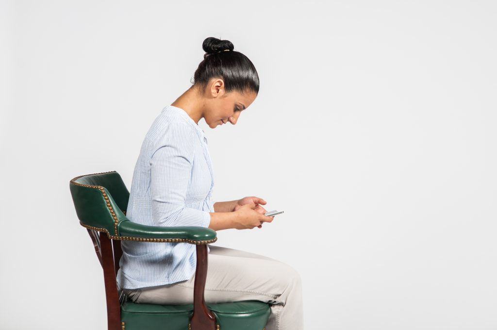 Bad posture - Cell/Mobile phone