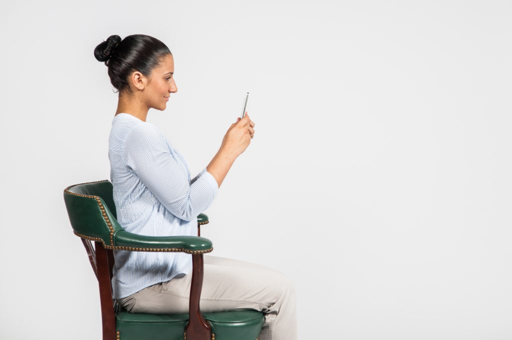 Good posture - Cell/Mobile phone