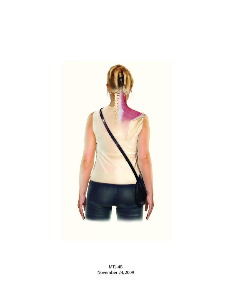 Bag on Shoulder good posture