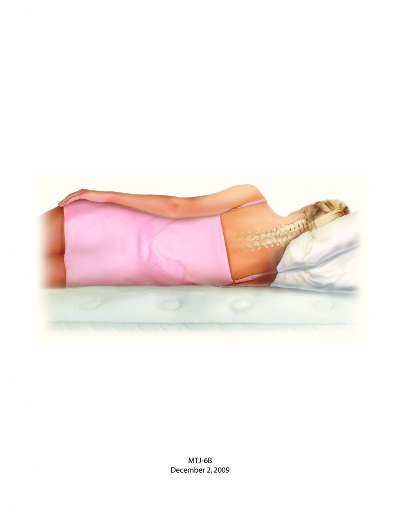 Bad posture Side Sleeping