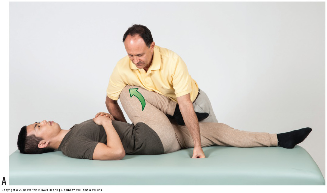 Piriformis Stretch Test with Horizontal Adduction of the Thigh