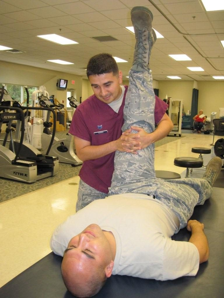 Occupational Therapy - Stretching the Hamstrings