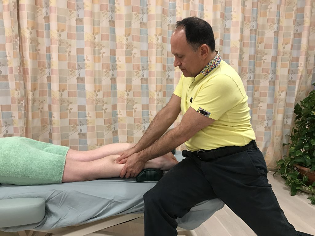 Massage Therapy to the Posterior Leg