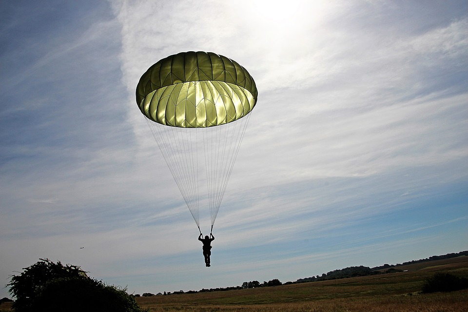 absence of evidence is not evidence of absence - parachute study