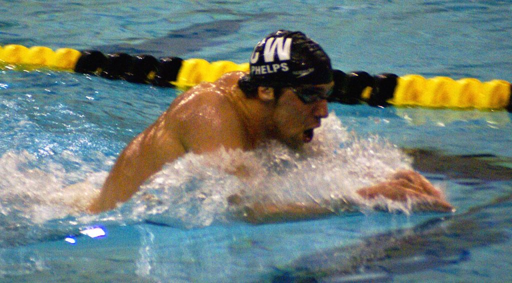 Michael Phelps and swimmer's shoulder article