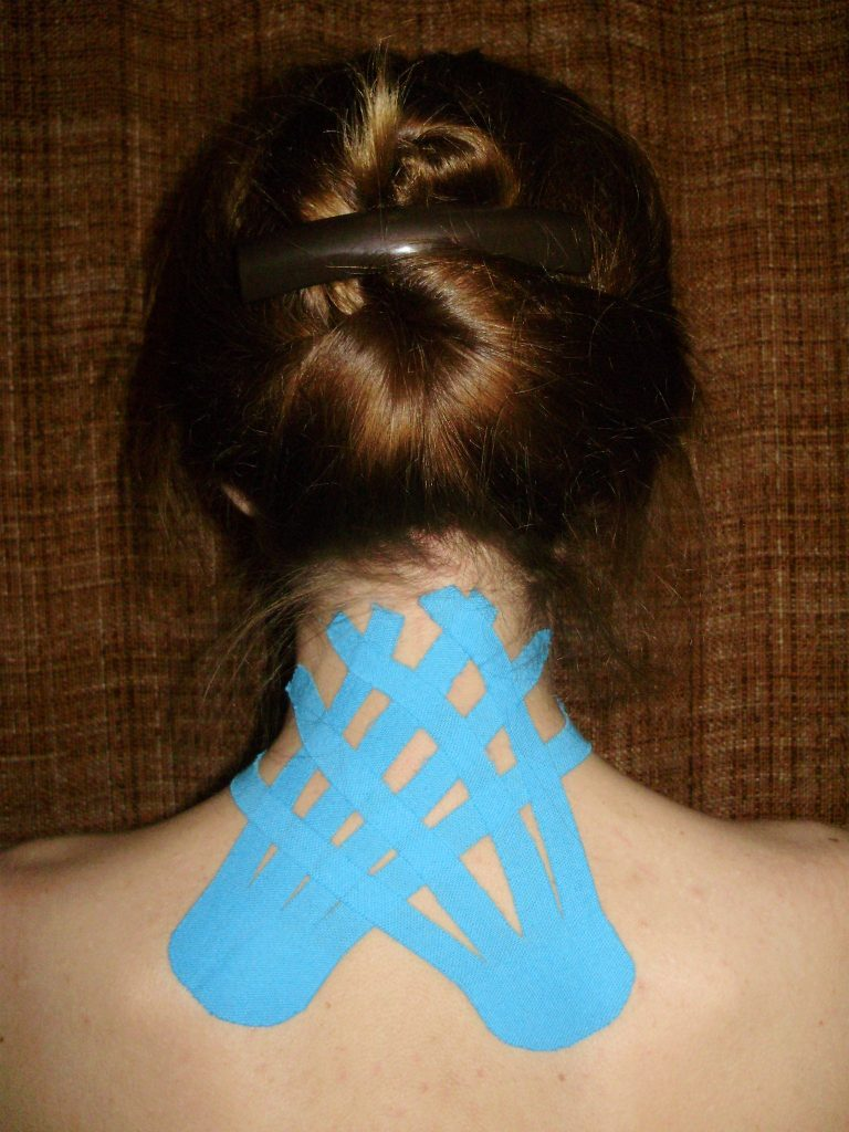 neuromuscular taping and its effects on blood pressure
