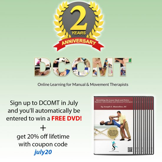 Your Chance To Win A Free Dvd By Dr Joe Muscolino In July