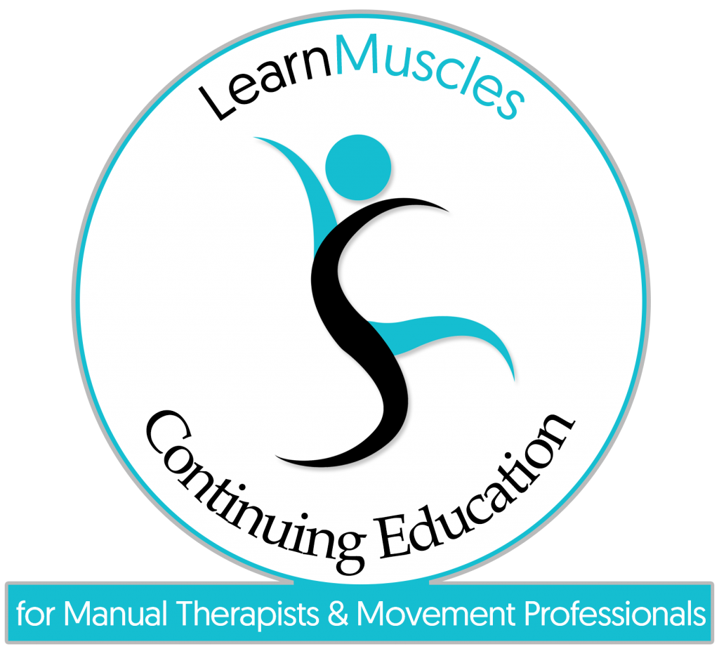 LearnMuscles Continuing Education (LMCE) video streaming subscription service for manual therapists and movement professionals.
